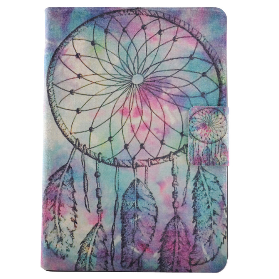 Fashion Cartoon Painted Back Cover For iPad Mini 4 Ultra Thin Slim Case For Apple iPad Mini4 Cases Leather Flip Stand Cover