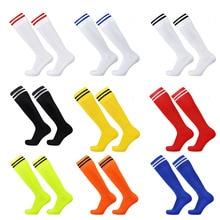 f0c439ff32f Onedoyee Sports Men Women Kids Football Socks Outdoor Running Soccer Socks  Breathable Children Boys Stockings Socks · 9 Colors Available