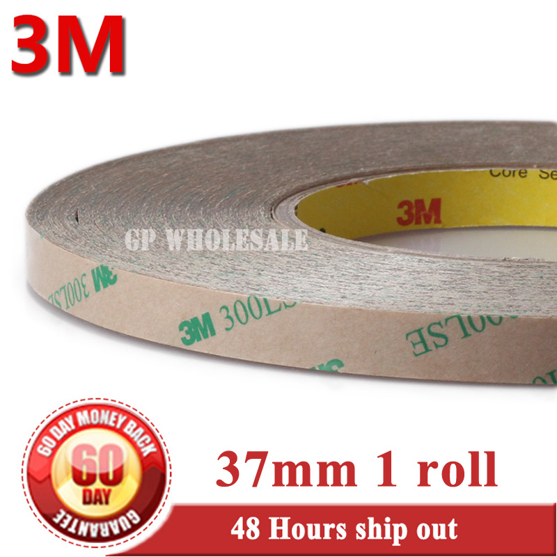 37mm width*55M original 3M 9495LE 300LSE PET Two Sides Sticky adhesive Tape for Phone Display LCD Screen Frame Digitizer Bond