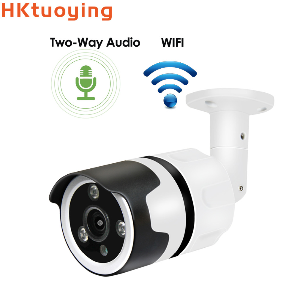 Two way audio 1080P Wifi IP Camera Onvif 2.0MP HD Outdoor Weatherproof Infrared Night Vision Security Video Surveillance Camera