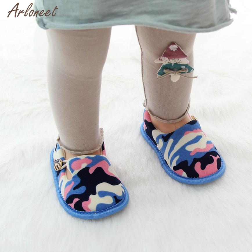 2017 baby moccasins Flock keep warm Household baby shoes Slip-On Mixed Colors Mixed Colors children shoes dec22