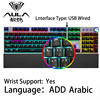 Arabic Hand support