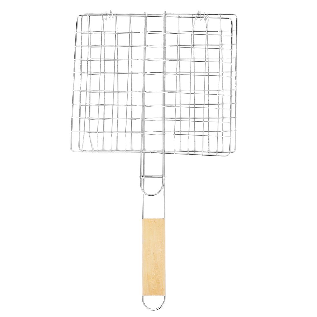 Metal Triple Grilling Basket Picnic Outdoor Barbecue Tool