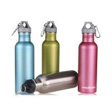 FEIJIAN My Sports Water Bottle Stainless Steel Drink Bottle Food Jar Canteen Wide Mouth Flask 750mL 25oz
