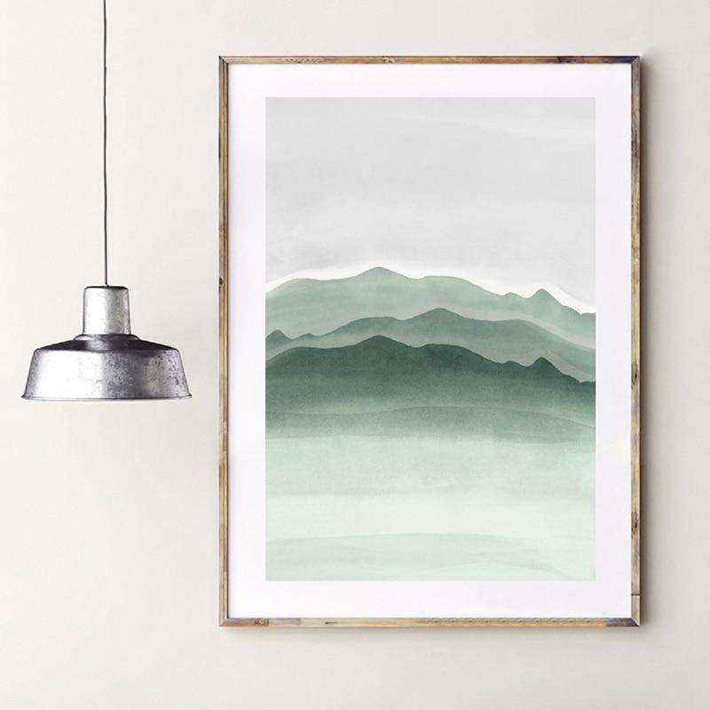 nature canvas prints Living Room Decor