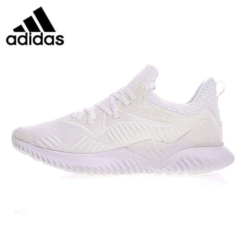 Adidas Alphabounce Beyond Men Running Shoes , Outdoor Sneakers Shoes,White Black, Sweat-absorbent AC8274 AC8271 EUR Size M