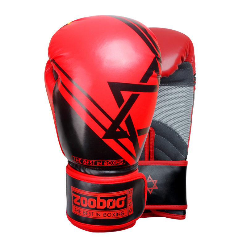 Zooboo Adult MMA Muay Thai Boxing Gloves Kickboxing Grappling Mitts Gear Sanda Wushu Sparring Bag Punching Equipment DBE gloves boxing gloves bessky® cool mma muay thai training punching bag half mitts sparring boxing gloves gym