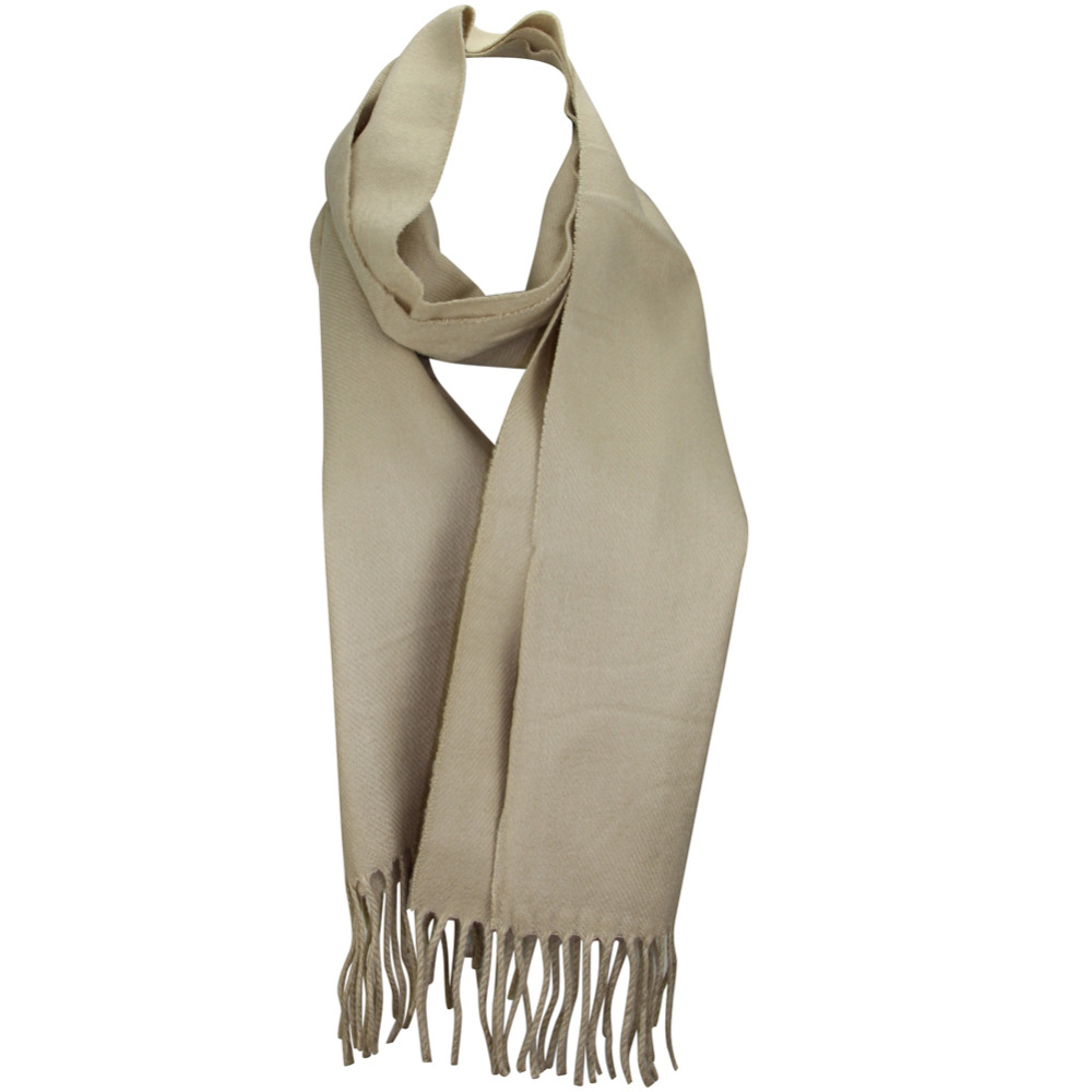 MINAKOLIFE Luxury Brand Scarf Unisex 2018 Female Male Best Quality Wool Cashmere Scarf Pashmina Tassels Women Men Wrap Shawl