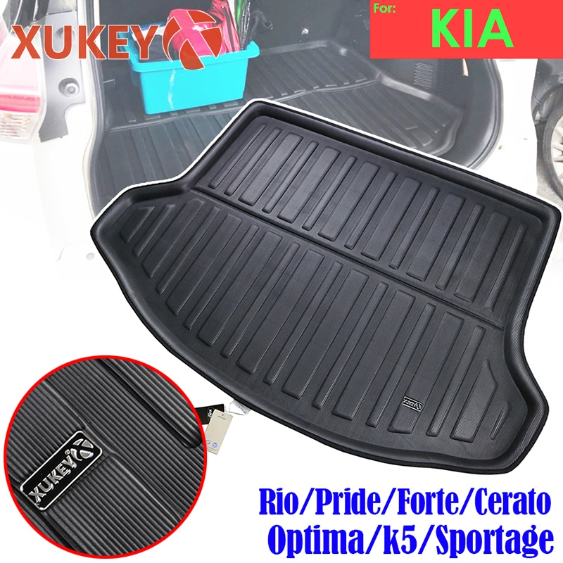 Car Stickers Exterior Accessories For Kia Optima Kia K5 Jf 2016 2017 2018 Boot Cargo Liner Rear Trunk Mat Floor Tray Carpet Protector Tailored