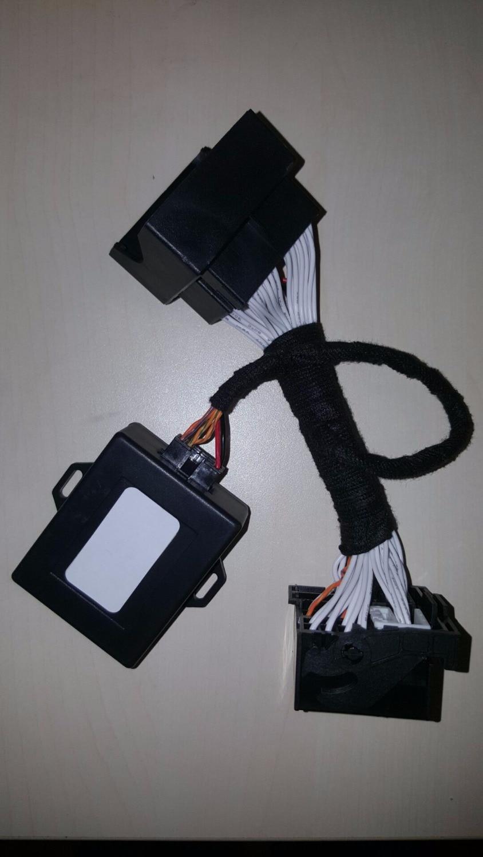 Plug and play pour BMW F10 * F20 F30 F15 pour bmw NBT NBT2/EVO adaptateur de navigation de modification émulateur-peut filtrer