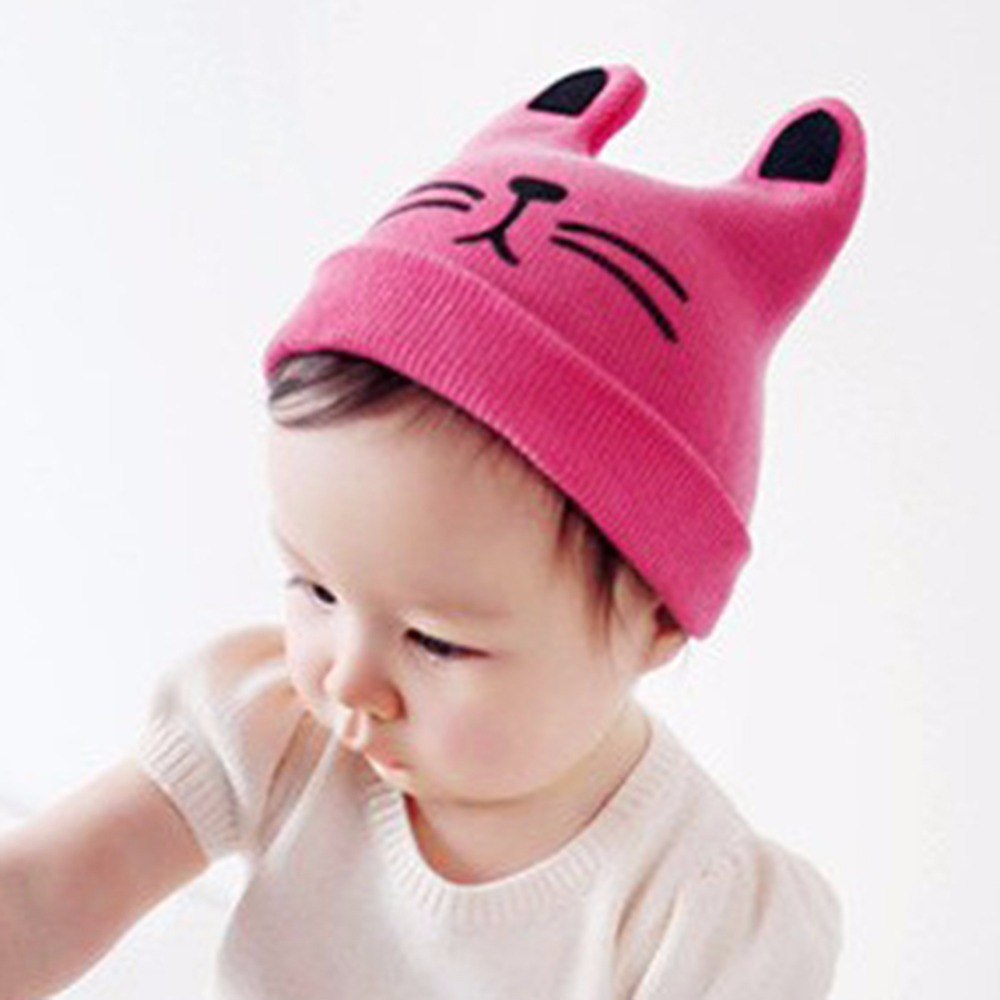 Cat Ear Beanie Hat Baby