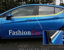 Нержавеющая Нижний Оконной рамы подоконник накладка 8 шт. Для Opel Astra K 2015 2016 2017 Хэтчбек НЕ ДЛЯ Opel Astra Sports Tourer