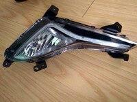 Led Drl Daytime Running Light For Hyundai Elantra J5 Avante MD With Fog Lamp House Top