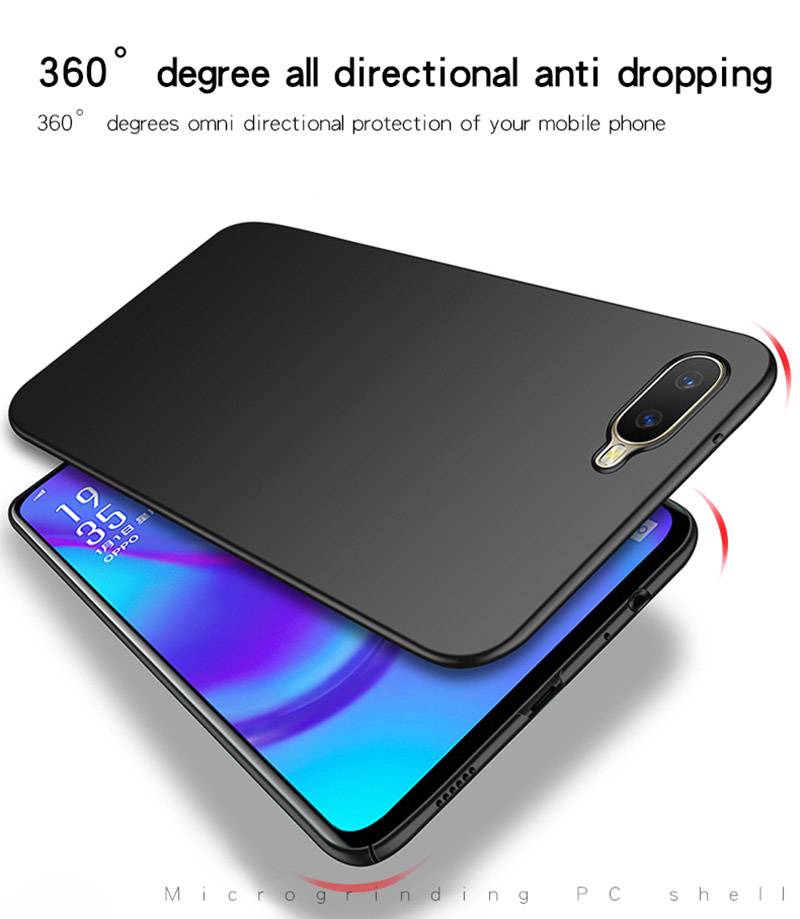 Image 5 - OPPO RX17 Neo Case Silm Luxury Ultra Thin Smooth Hard PC Phone Case For OPPO RX17 Neo Back Cover OPPO K1 Full Protection Fundas-in Fitted Cases from Cellphones & Telecommunications