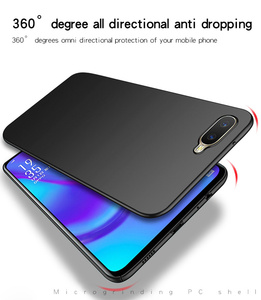 Image 5 - OPPO RX17 Neo Fall Silm Luxus Ultra Dünne Glatte Harte PC Telefon Fall Für OPPO RX17 Neo Zurück Abdeckung OPPO K1 Volle Schutz Fundas