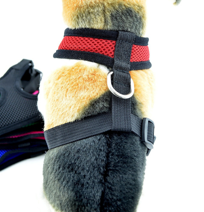 Aliexpress.com : Buy Hoomall Nylon Red Mesh Chest Dog Harness ...