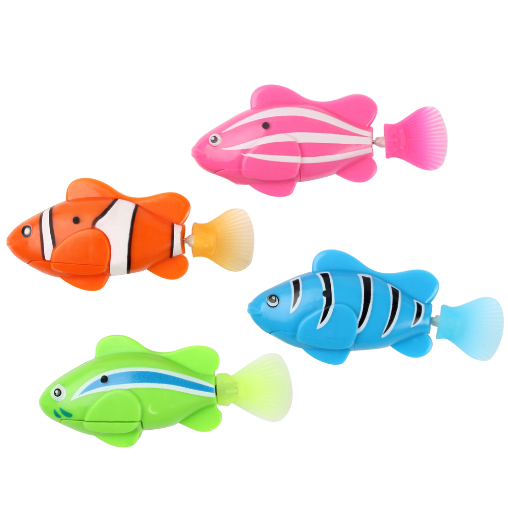 Metal aquarium reviews online shopping metal aquarium for Robot fish toy