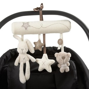 Baby crib pendant toy music velvet pendant toy new gift