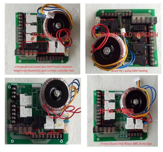 Ethink Controller Power Board Ersatz Für Chinesische Whirlpool Spa