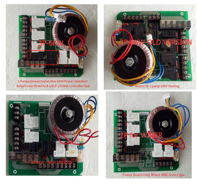 Chinois Jacuzzi Spa Circuit Board-Ethink KL8200