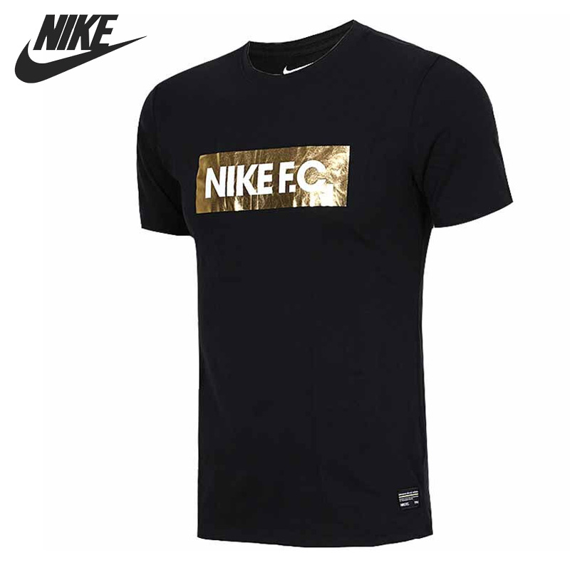 Original New Arrival 2017 NIKE AS M FC TEE FOIL Men's T-shirts short sleeve Sportswear футболка nike f c tee foil 810505 101