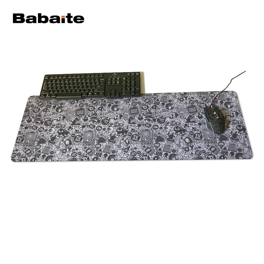 Babaite Villain Characters Cartoon High Quality Desktop Pad Mousepads Computer Animation Mouse Mat Silica gel Gaming League