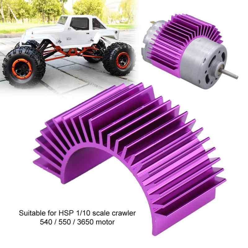 Aleación de aluminio RC Motor disipador de calor RC modelo accesorio de aleación de aluminio disipador de calor para HSP 110 orugas 540 550 3650 motor RC parte