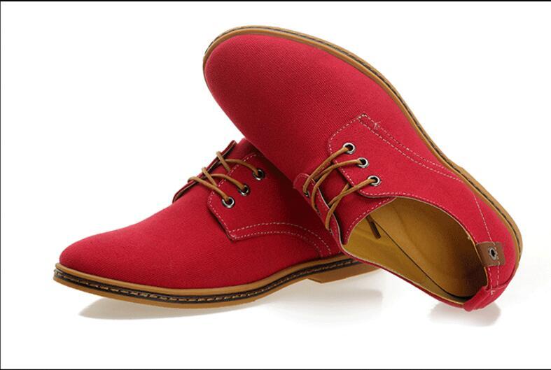 BabeBcBd Spring and autumn new trade mens canvas shoes British fashion big yard mens han version leisure shoes size:38-48