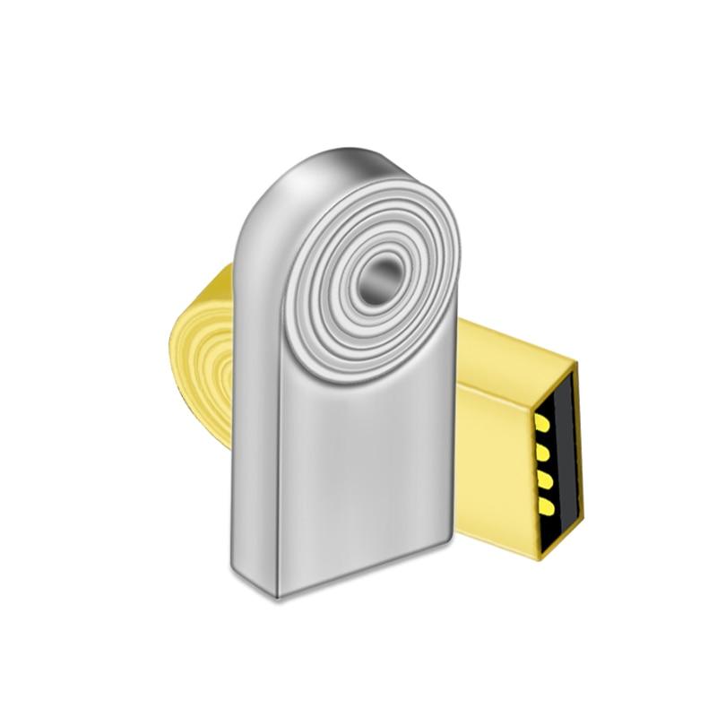 Отпечатков пальцев Мини Стиль 32 г интерфейсом usb металлическая подвеска USB флешка 16 ГБ 32 ГБ 64 ГБ 128 ГБ накопитель USB Memory stick флэш-накопитель