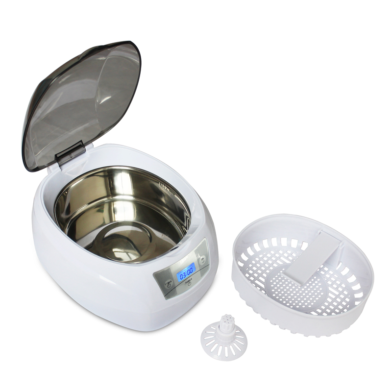 750ml Ultrasonic Cleaner bath watch glasses Jewelry Coins Rings glasses Manicure Nail Tools 35W/220V Local EU Plug750ml Ultrasonic Cleaner bath watch glasses Jewelry Coins Rings glasses Manicure Nail Tools 35W/220V Local EU Plug