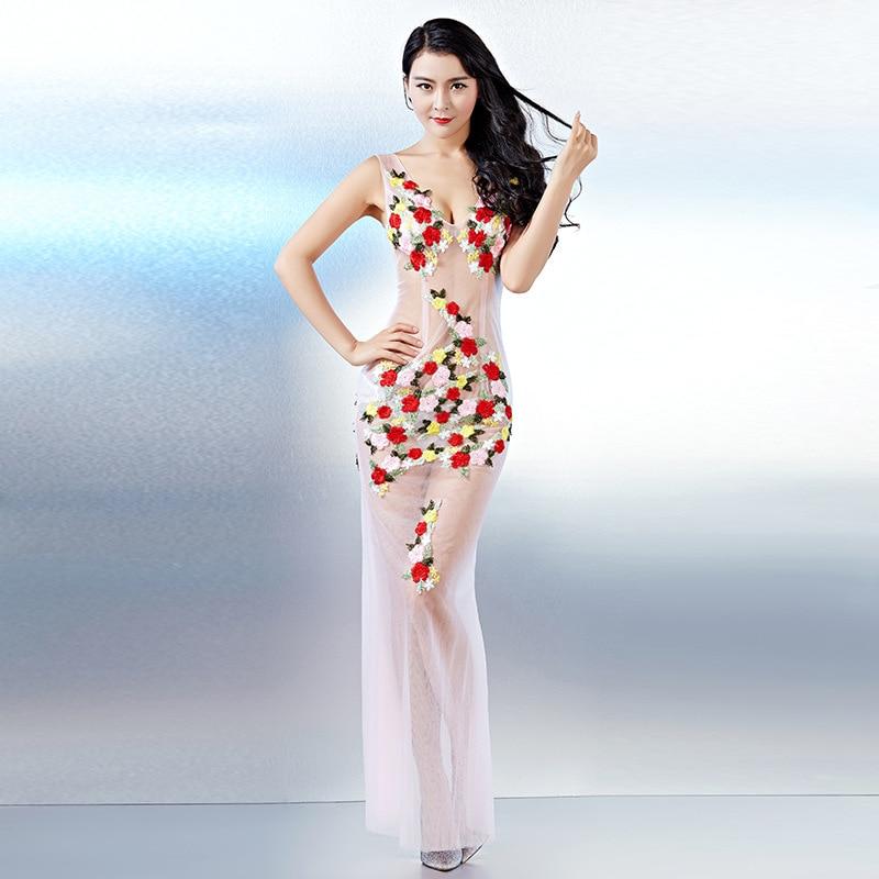 Femmes De Mince Rose Sexy Robes Soirée lavande V Nuit Robe Cou Club Slik Moulante Dames Dentelle Partie Floral Plage Été Boho qtv8wHfx8