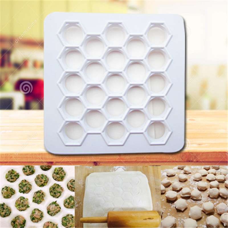2016 Big Size 4.3CM Dumplings Tool 23 Holes Dumplings Maker Mold