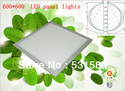 Free shipping 42W 600*600 Square smd led panel light Cool White/Warm White AC85-265V For kitchen led light bathroom light free shipping modern fashion bathroom light three crystals 45cm ac85 265v 9w cool warm white high power led mirror wall light