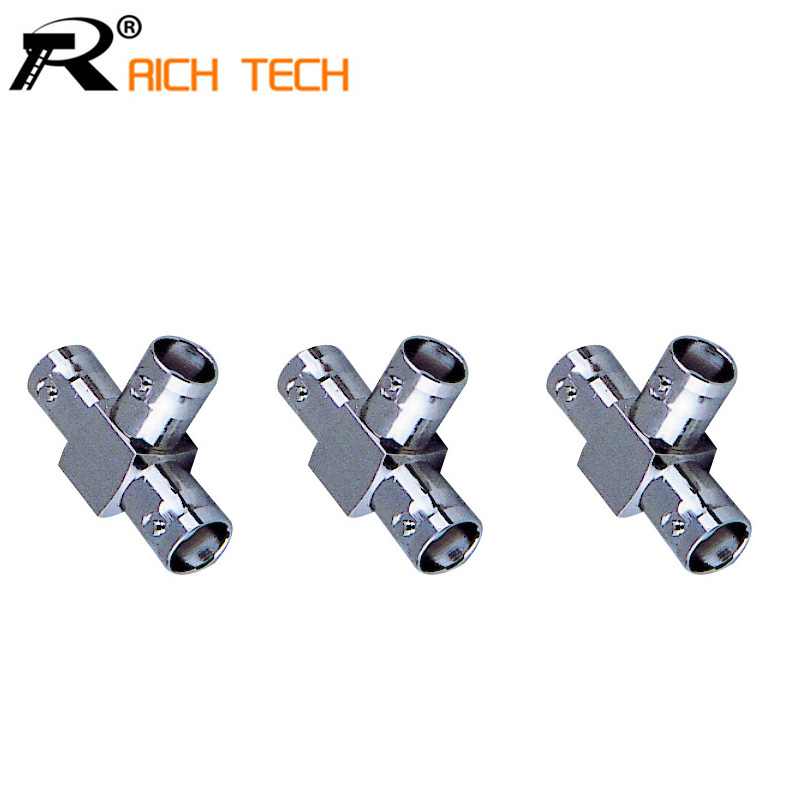 BNC female three channel Connector Extender for CCTV Camera Security Video Surveillance System 1pc