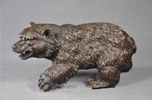 ATLIE BRONZES Casting crafts sculpture Little bear  Bronze Bears Statues European Christmas Gifts HOME DECOR AW-150