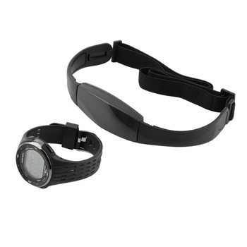 Pedometer Heart Rate Monitor Calories Counter Fitness Tracker Outdoor Men Sports Watches Digital Watch Black Hot
