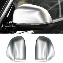 Fit For BMW X3 G01 2018 2019 ABS Matte Chrome Exterior Side Door Rearview Mirrors Cover Trim Cap 2pcs Car Styling Accessories недорго, оригинальная цена