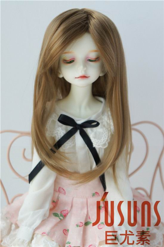 JD137 Fashion BJD synthetic mohair doll wigs  1/4 BJD hair 7-8 inch doll accessories 1 3 1 4 1 6 1 8 1 12 bjd wigs fashion light gray fur wig bjd sd short wig for diy dollfie