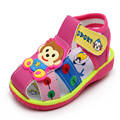 2017 Summer Baby Girl Shoes Cartoon Small Kids Sound Shoe Boys Bebe Soft Bottom First Walkers For 0-2 Years Old