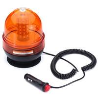 Safurance 12W 5730 60 LED Emergency Vehicle Flash Stobe Rotating Beacon Warning Light Traffic Light Roadway