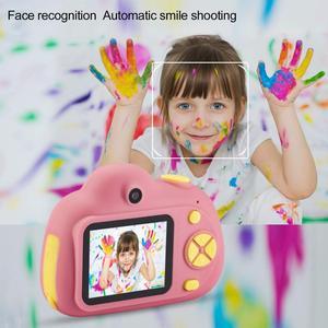 Image 5 - Enfants caméra Mini Carton numérique SLR caméra intelligente double objectif 2.0 pouces 12MP Anti chute jouet caméra pour garçons filles cadeau de noël