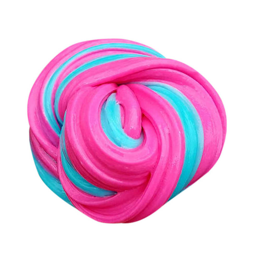 80ml Colorful Fluffy Slime 4