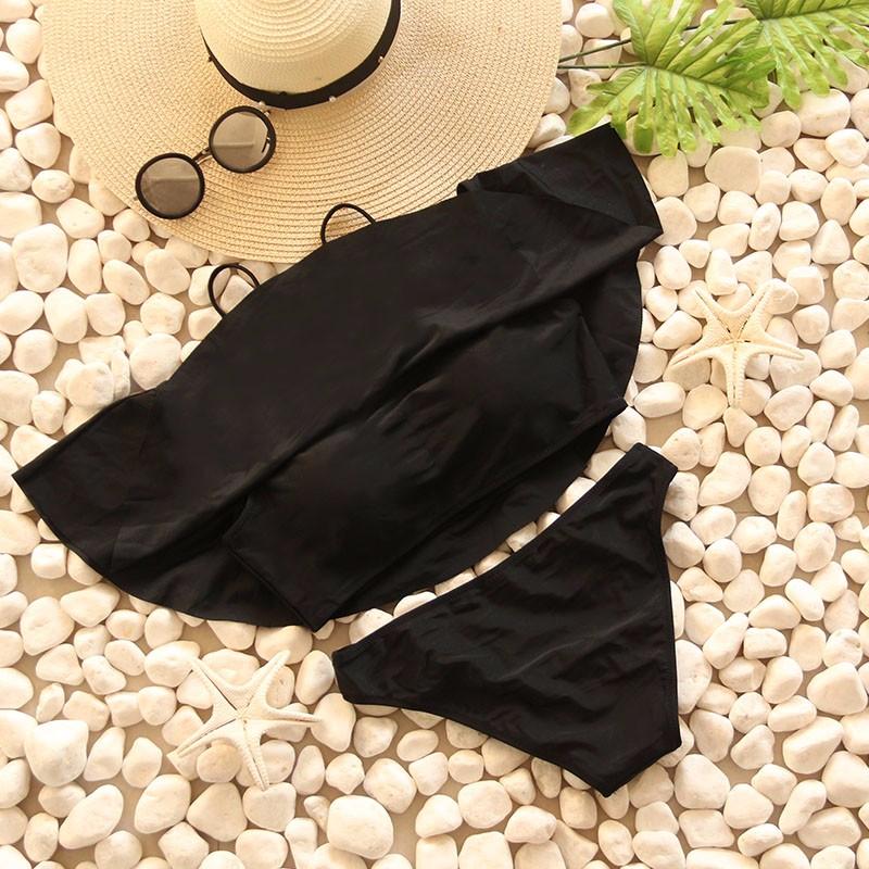 Swimwear Women Swimsuit Push Up Swimwear Female 19 Sexy Bandeau Bikini Ladies Brazilian Beach Bathing Suit bandage Bikini Set 11
