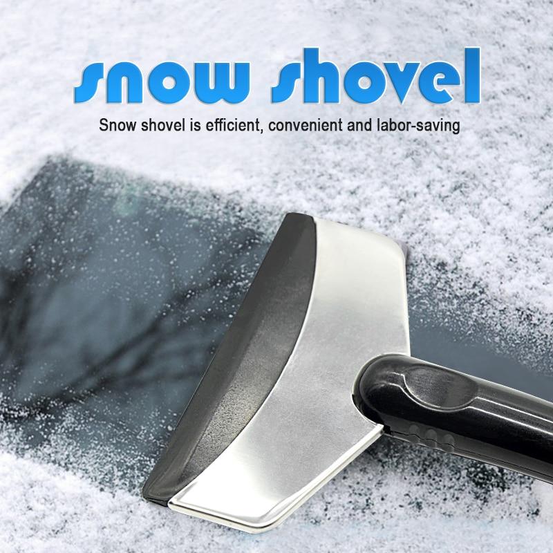 Image 3 - Ice Scraper Car Auto Tool Scraper Auto Parts Car Winter Shoveling Snow Tool Ice Shovel Car Snow Removal Tool Snow Shovel-in Ice Scraper from Automobiles & Motorcycles