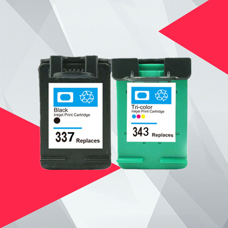Compatible for HP 343 337 Ink font b Cartridge b font for HP337 343 for HP