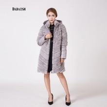 2016 pure rabbit hats, leather sleeve fashion bag mail warm coat