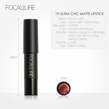 19 Colors Matte Lipsticks