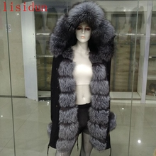 fur winter hooded thick
