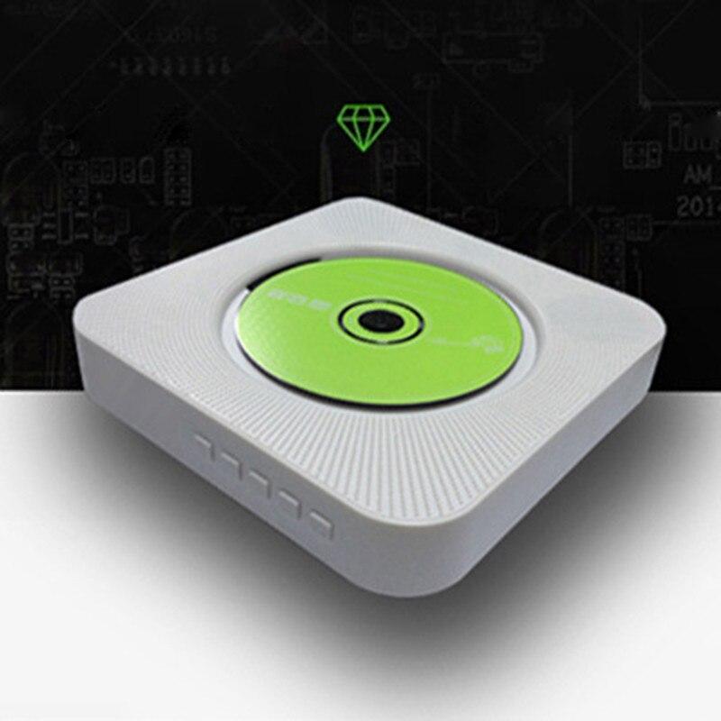 DOITOP lecteur CD Bluetooth télécommande murale haut-parleur HiFi lecteur USB lecteur lecteur Support CD AUX USB FM jouer