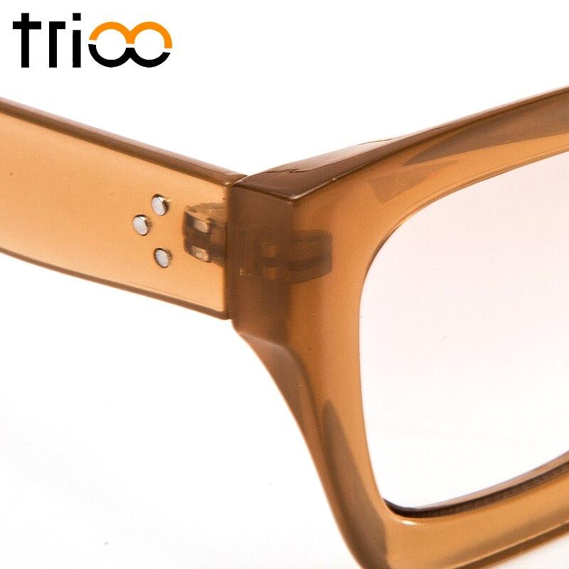 TRIOO բարձրորակ քառակուսի ակնոցներ - Հագուստի պարագաներ - Լուսանկար 6